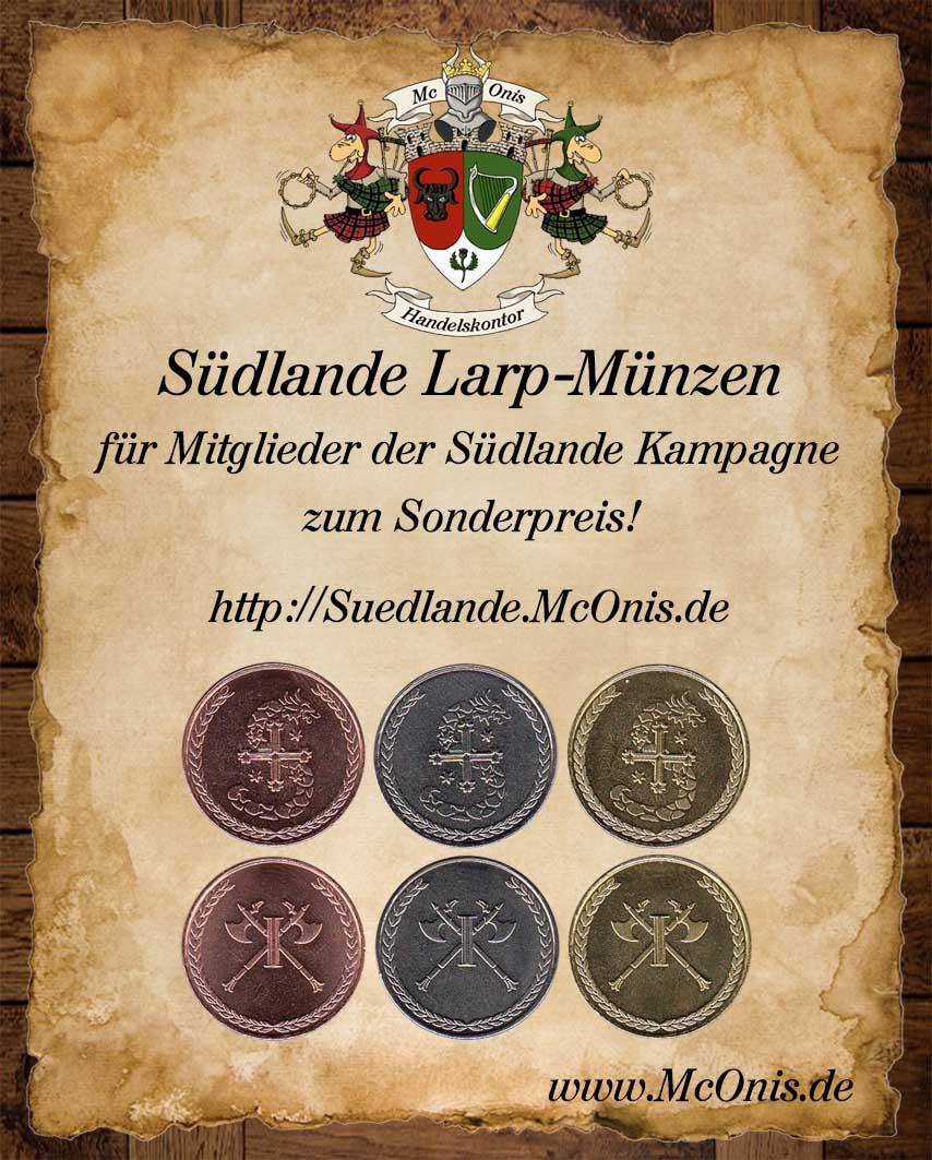 Südlande Münzen