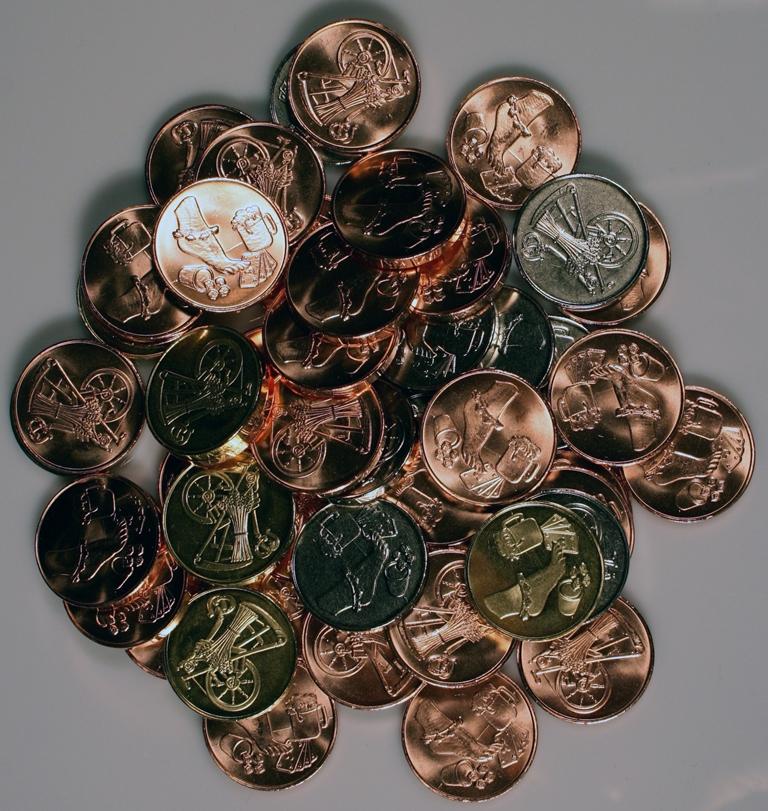 Larp Münzen*, Medaillen & Wertmarken