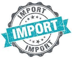 Importe sofort verfügbar
