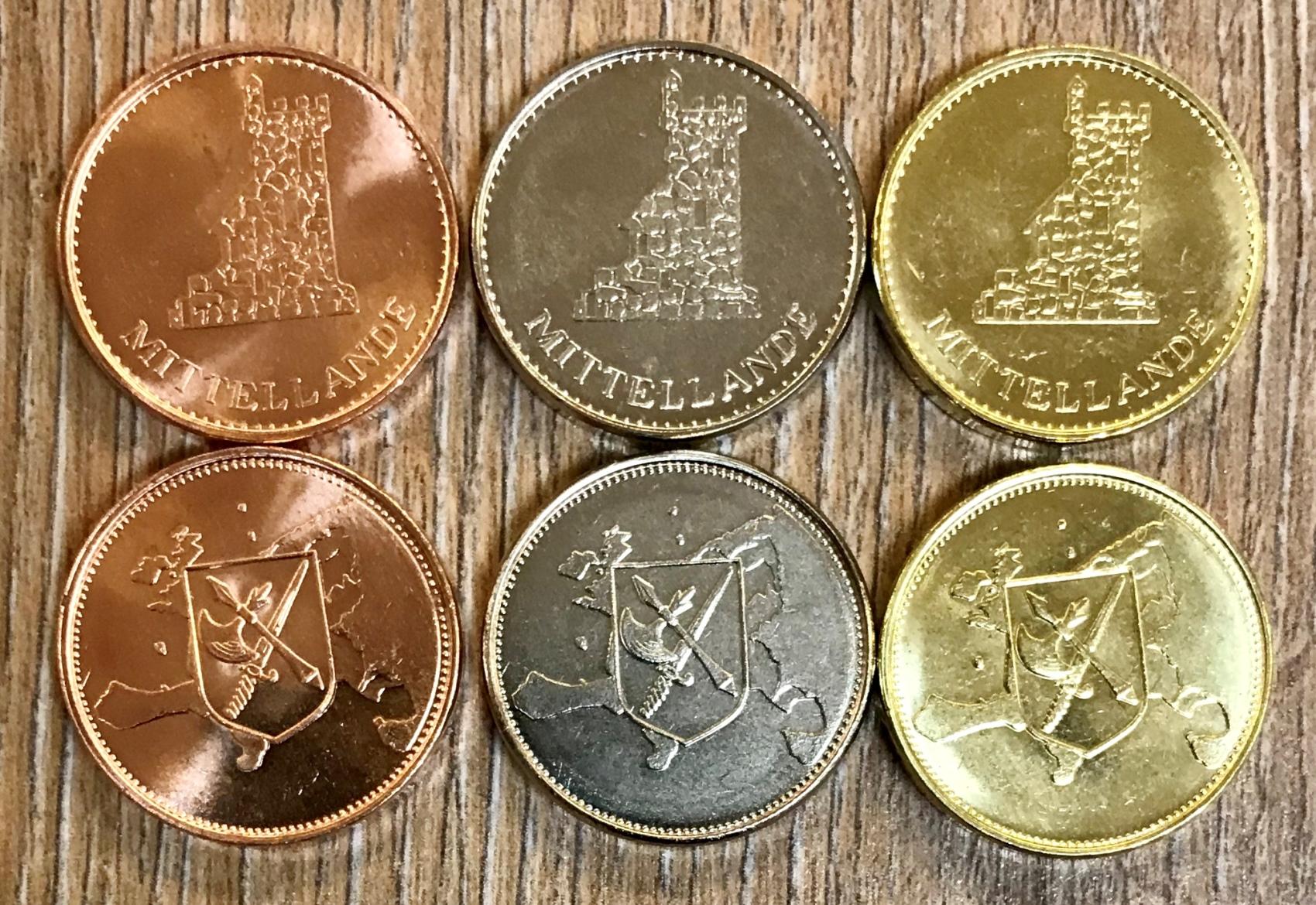 Münzen für die Mittellande