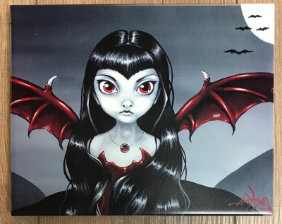 Keramikfliese Red Winged 25x20cm - Jasmine Becket Griffith