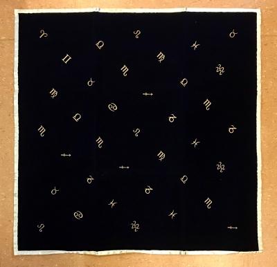 Tarot Decke - Tarot Cloth - Astrologie - Astrology - 80x80cm