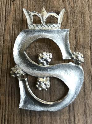 Pilgerabzeichen - Crowned