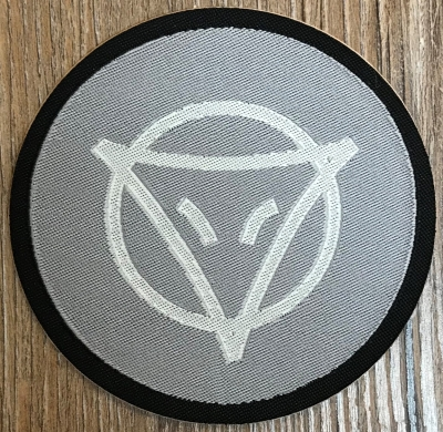 Aufnäher Patch Aufkleber - gewebt - DSA 09 - Phex - 8cm - grau/ silber