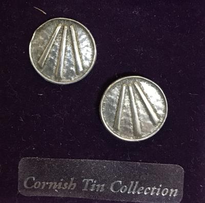 Ohrringe - Awen - Cornwall Zinn - 2er Set- OBOD - ADF - Druiden - Kelten - Ausverkauf