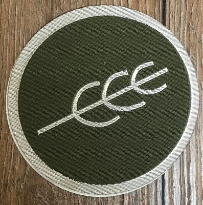 Aufnäher Patch Aufkleber - gewebt - DSA 10 - Peraine - 8cm - grün/ silber