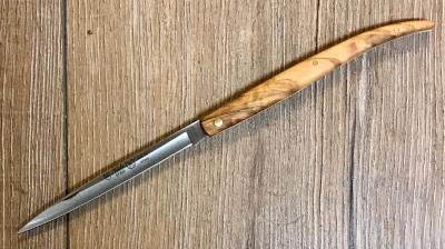 Nieto Taschenmesser - Olivenholz, Stahl AN. 58 - Heftlänge 12 cm
