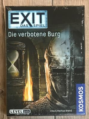 EXIT - Das Spiel - Die verbotene Burg - Profis - KOSMOS Verlag