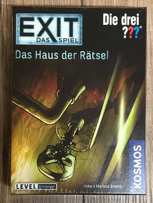 EXIT - Das Spiel - Die drei ??? - Das Haus der Rätsel - Einsteiger - KOSMOS Verlag