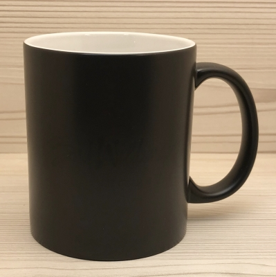 Tasse - Amt für Aetherangelegenheiten - Wondermug Farbwechsel schwarz