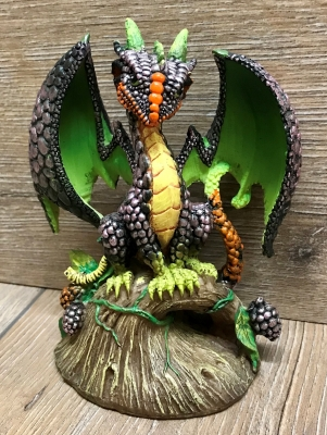 Figur - Drache - Blackberry Dragon/ Brombeer Drache by Stanley Morrison