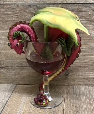Figur - Drink Dragon - Red Wine/ Rotwein by Stanley Morrison