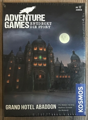 ADVENTURE GAMES - GRAND HOTEL ABADDON - KOSMOS Verlag
