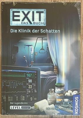 EXIT - Das Buch - Die Klinik der Schatten - Jugendkrimi - Einsteiger - KOSMOS Verlag