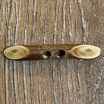 Knebel aus Holz - 2-Loch - 30mm