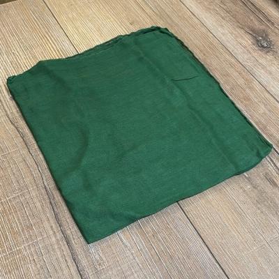 Tuch - Schal uni 100cm x 100cm - grün
