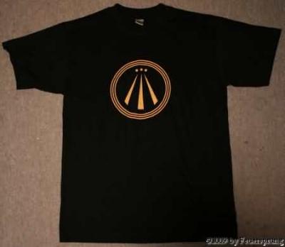 T-Shirt - Druid on Tour - AWEN - Größe XS/ 164 - schwarz