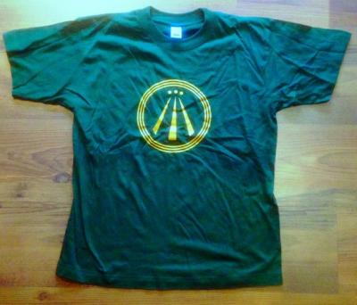 T-Shirt - Druid on Tour - AWEN - Größe S - grün