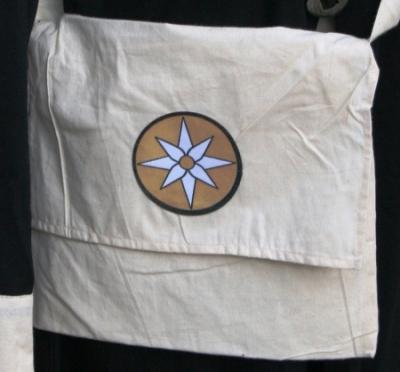 Umhängetasche mit Aufnäher - Conquest Elemente-Symbol - Magica - Ausverkauf