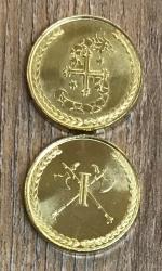 Larp Münze* - Südlande - Gold* -  Rabatt nur für Mitglieder der Länder der Südlande Kampagne!