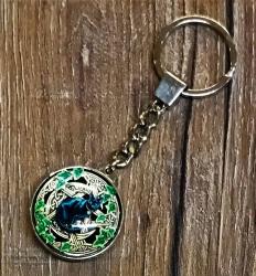 Schlüsselanhänger - Pentagram Cat - Keyring - Ausverkauf