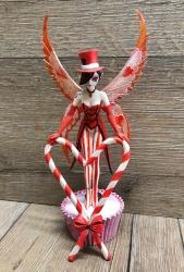 Statue - Sugar Sweet Elfe - Candy Cane - Jasmine Becket Griffith - Dekoration - Auslaufartikel