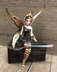 Statue - Sugar Sweet Elfe - CandyChocolate - Jasmine Becket Griffith - Dekoration - Auslaufartikel