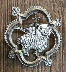 Pilgerabzeichen - Agnus Dei - Lamm Gottes