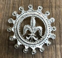 Pilgerabzeichen - Fleur de Lys - Französische Lilie