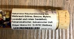 Räucherharze in Glasröhre - Schutzengel ca. 24g