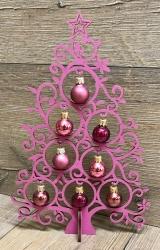 Kugeltraum 20cm - Beere - Weihnachtsbaum - Yuletanne - Weihnachtsdeko
