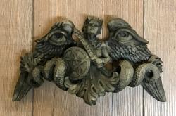Plaque - Wandtafel - Wandschmuck - Wächter - Guardian - Steinoptik - Ausverkauf - noch 4 Artikel verfügbar