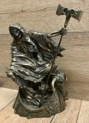 Statue - Charon - griechischer Fährmann der Toten - Dekoration - Ritualbedarf