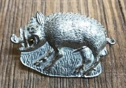 Pilgerabzeichen - wilder Keiler - Wild Boar