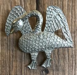 Pilgerabzeichen - Schwan - Swan