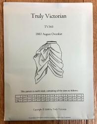 Schnittmuster - 1883 August Overskirt - TrulyVictorian Pattern