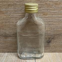 Flasche - Taschenflasche - 100ml - mit Schraubverschluss