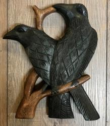 Trinkhorn - Ständer Hugin & Munin flach