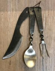 Besteck - Set - Messer, Gabel, Löffel - Edelstahl