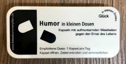in kleinen Dosen - Humor