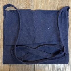 Tasche - Baumwolle - Umhängetasche einfach - blau