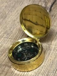 Maritimes - kleiner Kompass mit Deckel