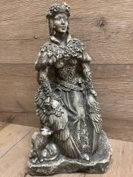 Statue - Freya - Stonefinish - Dekoration - Ritualbedarf