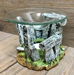 Duftlampe - Arome Lampe - Steinkreis Stonehenge