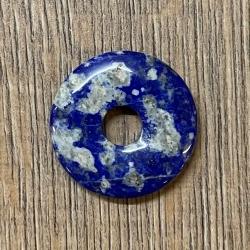 Edelstein - Donut - Lapis-Lazuli - 30mm