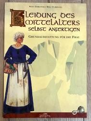 Buch - Kleidung des Mittelalters - Grundausstattung für die Frau - Zerkowski