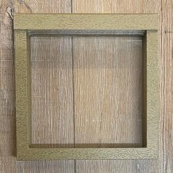 Objekt-Rahmen für Münzen, Medaillen & mehr - 15cm x 15cm (innen) - Ausverkauf