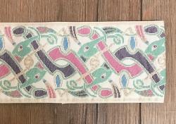 100 Borte keltischer Gobelin creme - 10cm breit - am laufenden Meter