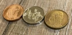 Münzset* für Orgas & Gruppen 23,5mm - Kelten... ab 1.000 Stück