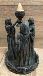 Räucherkerzen - Räucher-Kegelbrenner - Backflow - Lebenszyklus - Jungfrau, Mutter, Weise Alte